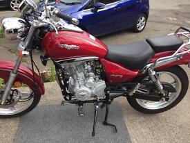 Lexmtoto Arizona 125 motorbike
