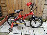 14 inch Pirate Bike for 3 to 5 years old pirates