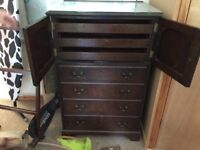 Chest with draws poss antique