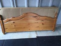 Double pine head board