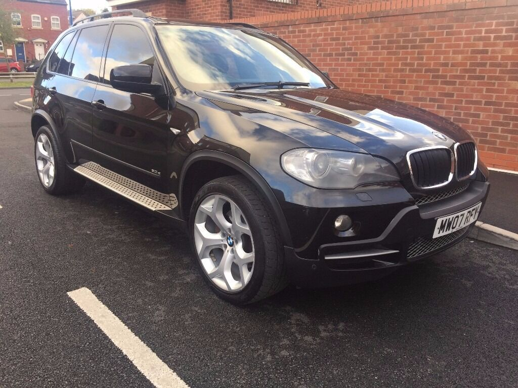 BMW X5 3.0 30d SE 5dr 7 SEATER + NAV 2010 black colour 7 seats well serviced £9500 CALL