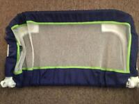 Braun bed guard in lovely used condition from smoke pet free home