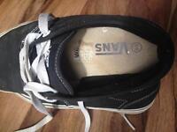 Used Vans worn Nike trainers