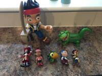 Jake and the Neverland Pirates figures