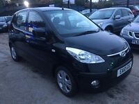 Hyundai i10 1.2 Comfort 5dr FREE 1 YEAR WARRANTY, NEW MOT, FINANCE AVAILABLE, P/X WELCOME