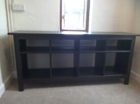 IKEA hemnes console table and bookcase