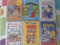 Collection of popular children's dvd's