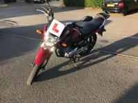Yamaha YBR 125cc 2014 plate