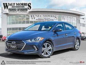 2017 HYUNDAI ELANTRA LIMITED: LOCALLY OWNED, ONE OWNER, ACCI