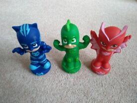 PJ Masks Character Toy Bundle