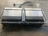 Zodiac 742020 Commercial / Professional Double Panini Grill- USED
