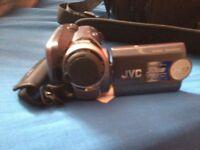 JVC MINI HARD DISK CAMCORDER, 30GB MEMORY, 30X ZOOM, LIKE NEW