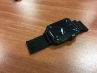 Apple Watch Sport 42mm as NEW condition with black milanese strap