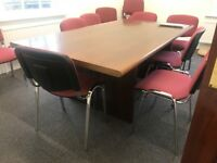 Beautiful wooden Office Conference table free for a good home- collection only