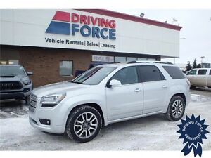 2014 GMC Acadia Denali All Wheel Drive w/Quad Bucket Seats