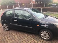 Ford Fiesta Style. 07 reg. 36,500 miles. Navy blue Ideal first car