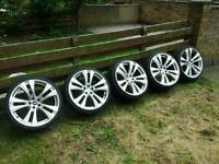 20 inch Mercedes Audi VW Seat cars alloys 5-112 alloy wheels
