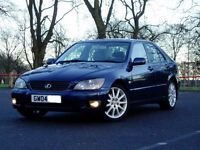 2004 Lexus IS200 Se. 6 Speed Manual. Mot June. Service History. Full Cream Leather. 97000 Miles.