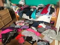 Huge amount girls clothes clear out age 9 to 11