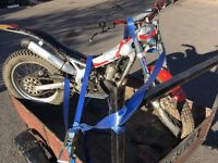 Beta rev road reg trials bike