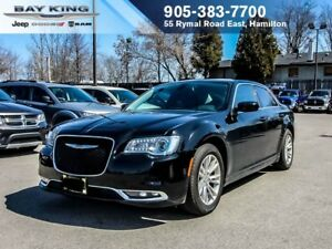 2017 Chrysler 300 TOURING, GPS NAV, BACKUP CAM, DUAL PANO SUNROO