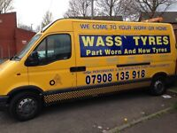 MOBILE TYRE FITTING SERVICE PART WORN AND NEW TYRES
