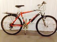 Saracen Hybrid bike 18 speed front suspension