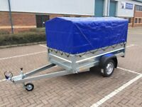 Brand new Faro Tractus 2,36cm car box trailer 750kg with 110 cm cover