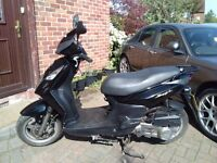 2015 SYM Symply 125 automatic scooter, very good runner, ready to ride away, bargain, not honda ,,,,