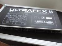 BEHRINGER ULTRAFEX 11 SOUND ENHANCEMENT PROCESSOR MODEL EX 3100