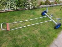 Dinghy trolley galvanized