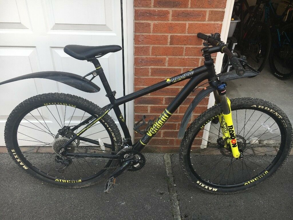 Voodoo Bizango 2013, 18 inch frame, 29 inch wheel, Mountain Bike with add  ons   in Rothwell, West Yorkshire   Gumtree