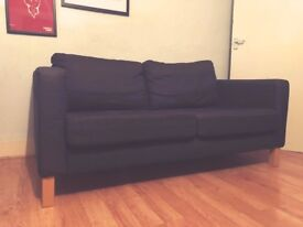 Two Seater Sofa - Dark Blue / Grey - Quick sale needed.