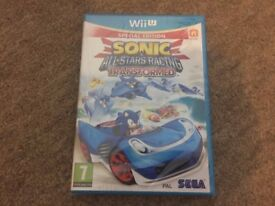 SONIC AND ALL STARS RACING TRANSFORMED SPECIAL EDITION NINTENDO WII U