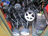 electric golf trolleys,mens,ladies,and junior golf gear,great prices.