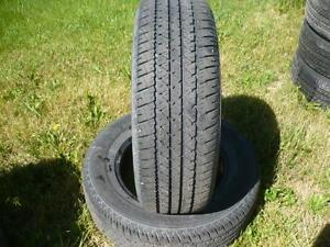 Two 225-65-16 tires $70.00