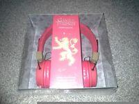 Brand new game of thrones headphones