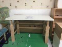 Wooden White Adjustable Desk - Ideal for Kids - Brand New - RRP £149