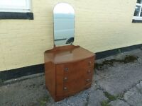3 Draw Dressing Table with Mirror Delivery Available £15