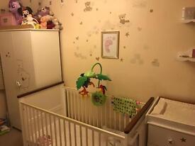 White nursery furniture - Tutti Bambini