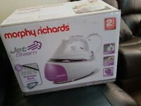 brand new morphy richard jet steam iron
