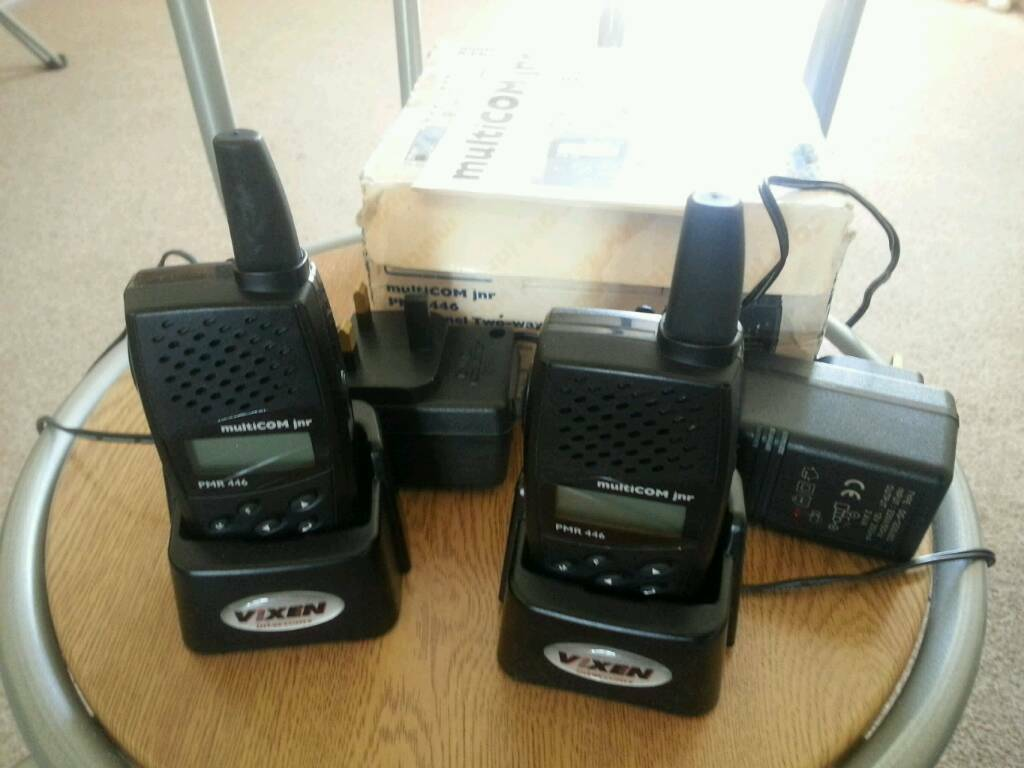 multicom jnr prm 446 8 channel two-way radios New.