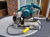 Professional Power Tools - Makita LC1230 Chop Saw (110 Volt) and Pulsa 700P Gas Powered Nail Gun