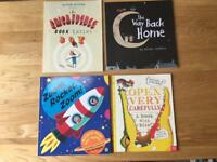 4 x Brand New Kids Books