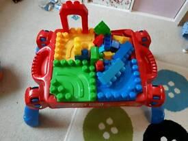 Mega Block table