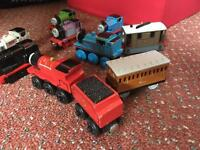 Thomas the tank engine selection of trains James Percy Stanley Toby Diesel Rosie Clarabel