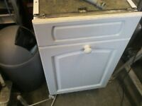 Zannusi integrated dishwasher ZT455, 450mm wide, hardly used selling as having new kitchen fitted