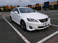 2012 (61 Reg) Lexus IS250 F Sport, Stunning Pearl White With Dynamics Pack, Low Miles