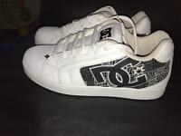 White dc shoes size 11