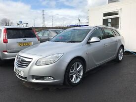 2010 (10 reg) Vauxhall Insignia Estate 2.0 CDTi 16v SRi 5dr 6 Speed Manual Turbo Diesel